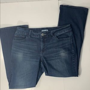 Lee Riders Bootcut Mid Rise Jeans Sz 10